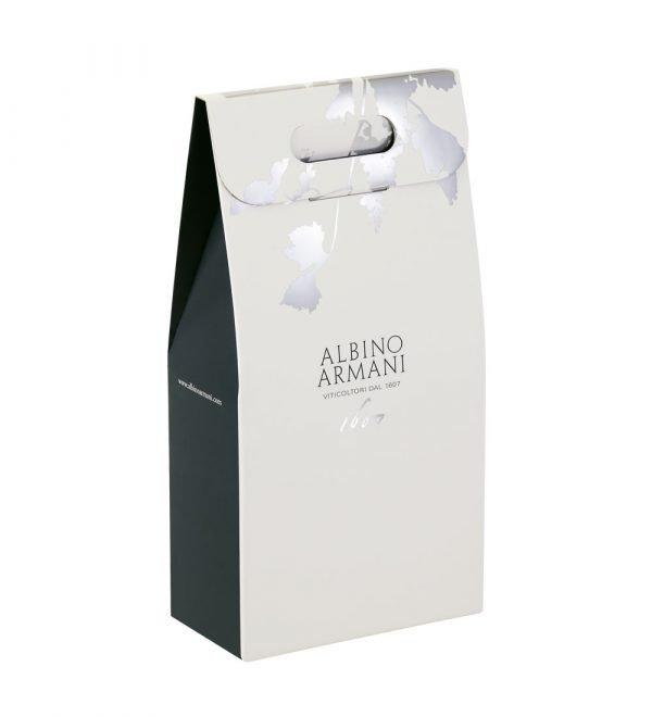 Astuccio porta bottiglie da 2 bottiglie di vino Albino Armani