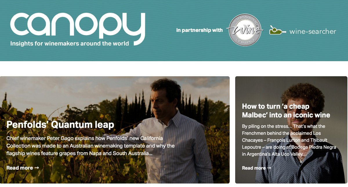 canopy wine magazine